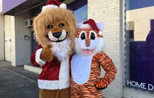 Santa Saturdays with Mr. and Mrs. Claws at the Little Rock Zoo